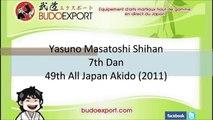Yasuno Masatoshi Shihan - 49th All Japan Aikido (2011)