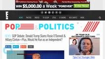 Donald Trump Slams Rosie O'Donnell in GOP Debate