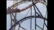 Taz's Texas Tornado Roller Coaster Off Ride Shots Six Flags Astroworld Houston TX