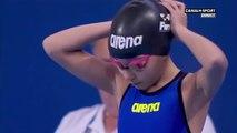 Une nageuse de 10 ans aux championnats du monde de natation