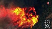 Californie : plusieurs milliers de pompiers luttent toujours contre les incendies