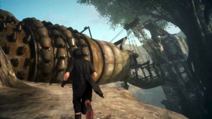 Final Fantasy XV - Gameplay Combat Morbol de Final Fantasy XV