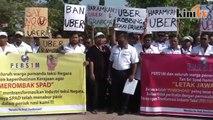 Tranformasi teksi gagal, pemandu demo di Putrajaya
