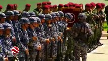 Peña Nieto inaugura cuartel militar en Coalcomán, Michoacán