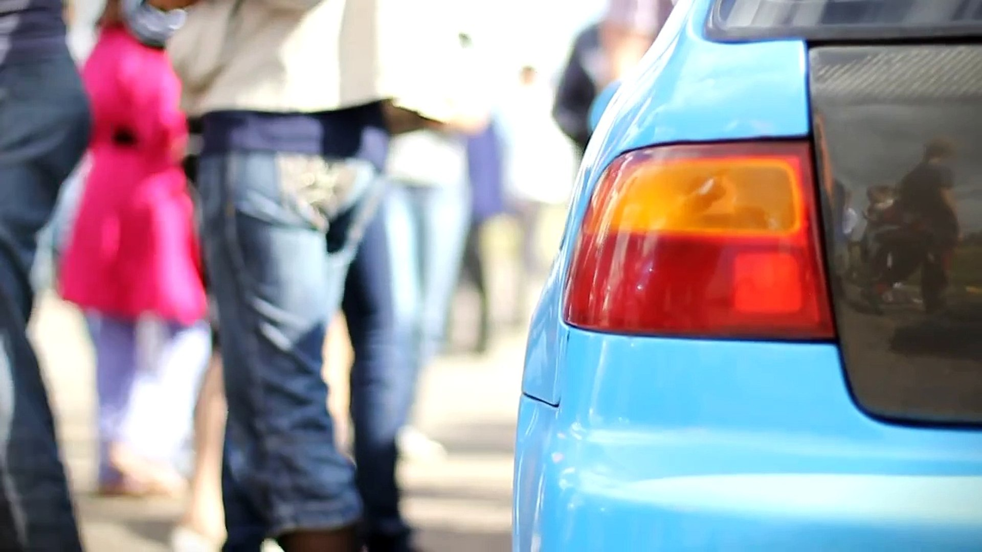 Honda Civic Turbo vs Тазы :) г. Октябрьский 27.08.2011 г.