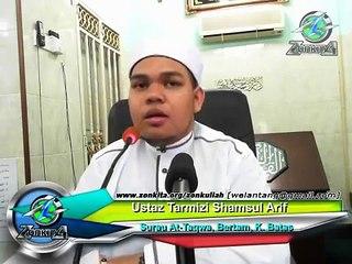 Ustaz Tarmizi Shamsul Arif - Soalan Pertama Akan Ditanya