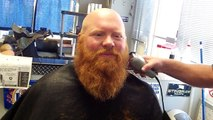 Dr David Powers 1st Beard Trim in 15 months