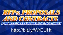 RFPs, Proposals, and Contracts for Web Developers and Designers