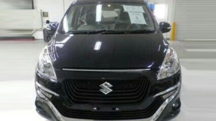 Suzuki Ertiga with New Front In Indonesia Spied
