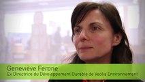 Geneviève Ferone, Ex Directrice du Développement Durable de VEOLIA