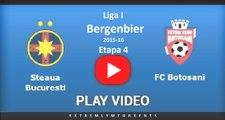 Liga I Bergenbier 2015-16 / Etapa 4 / Botoșani vs Steaua București / Digi Sport 1 Repriza 1