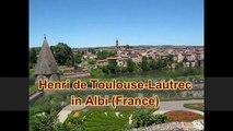 Henri de Toulouse-Lautrec and Albi. A Visit to the Museum of Toulouse-Lautrec and Albi, France.