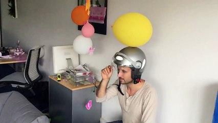 Drone Fight in Sophia Office 3/3