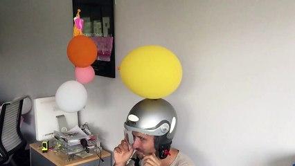 Drone Fight in Sophia Office 2/3