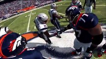 Madden NFL 12 | Versuz2 Slider Set - Denver Broncos vs New England Patriots Gameplay HD