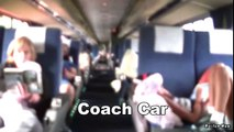 (HD) Amtrak Auto Train Tour (Longest Passenger Train in the World) (Minus Coach Diner & Crew Car)