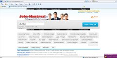 Jobs in Montreal. Montreal Jobs