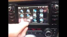 Car radio upgrade replacement for BMW 3 series e90 - video