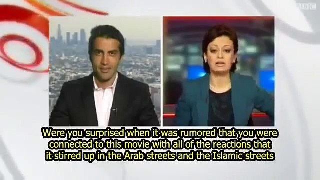 "Mosab Hassan Yousef denies link to anti-Islam ""Innocence of the Muslims""  (English subtitles)"