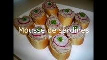 Rapide recette de  rillette de sardines