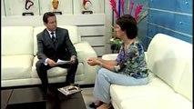 Entrevista Adriana Reinking en 34 Noticias con Gustavo Lomelin