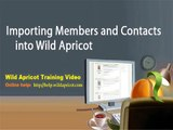 Contact Database Features With Wild Apricot: How To Import Contacts And Members