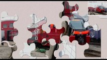 Cartoons about trains, Training cartoon, How to collect puzzle