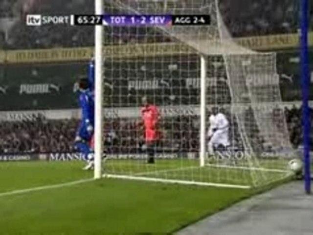 Spurs V Sevilla  Home made highlights