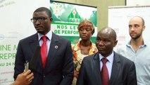 GEWSN 2014 - Mr DIOP Moustapha (Co fondateur de Jokkolabs) au lancement de l'incubateur CESAG