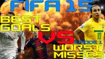 FIFA 15 I BEST GOALS VS WORST MISSES I INTERACTIVE ULTIMATE TEAM FIFA 15