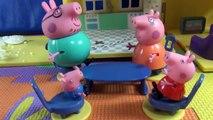 Peppa Pig en français. Peppa Pig et la neige. Peppa Pig avec su famille font il bonhomme d