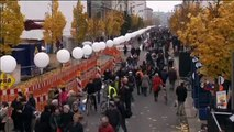 Fall of the Berlin Wall: 25th anniversary of fall of Berlin Wall celebrated in the German capital