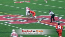 Stony Brook Men's Lacrosse vs. No. 6 Virginia - Feb. 23, 2013
