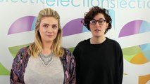 Goldsmiths Students' Union Elections 2014 - Alex and Siwan