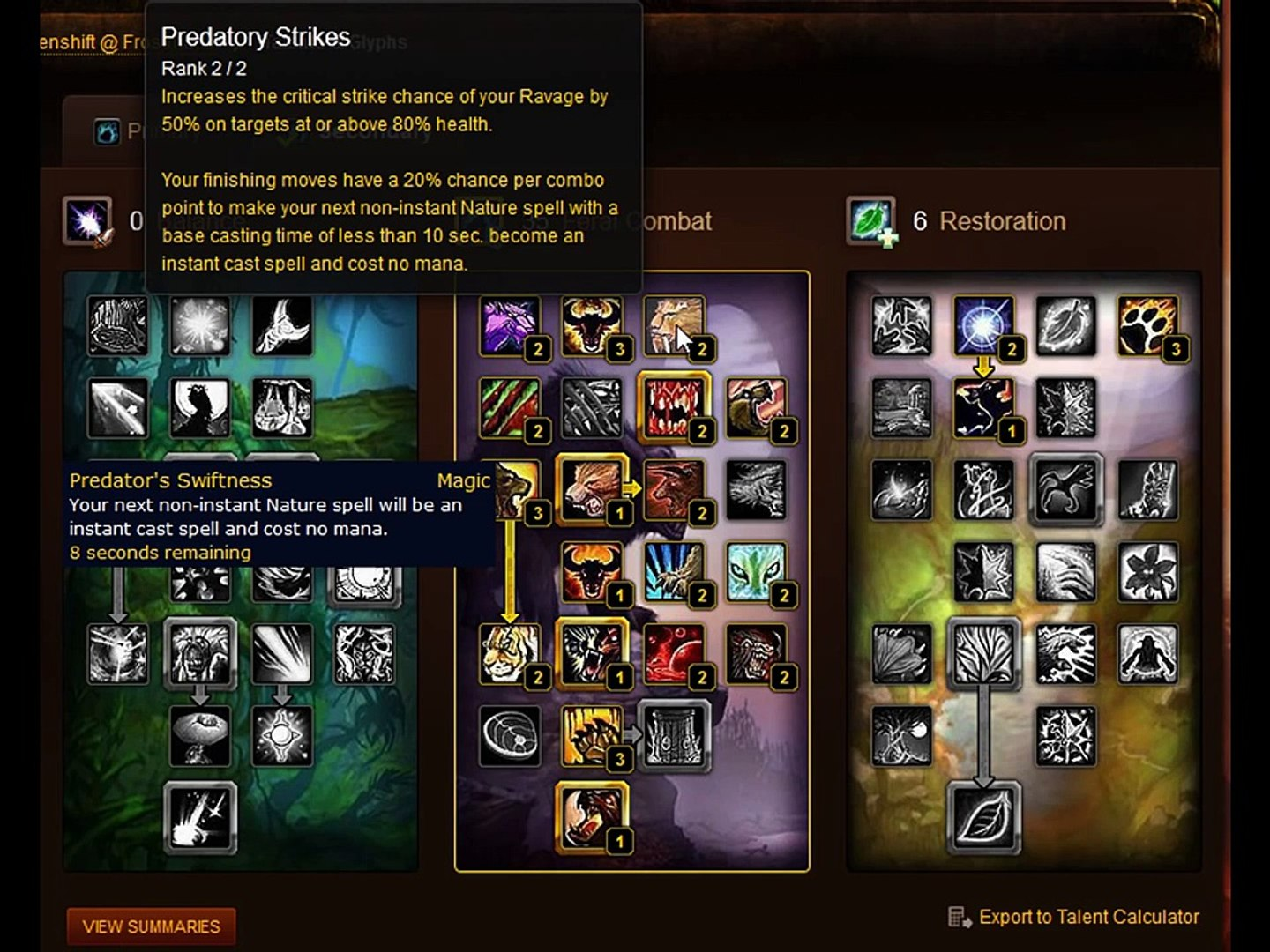 Feral Druid Beginner PVP Guide 4 3 (Spec, Glyphs, Stat Priority, Rotation,  Macros and Addons!)