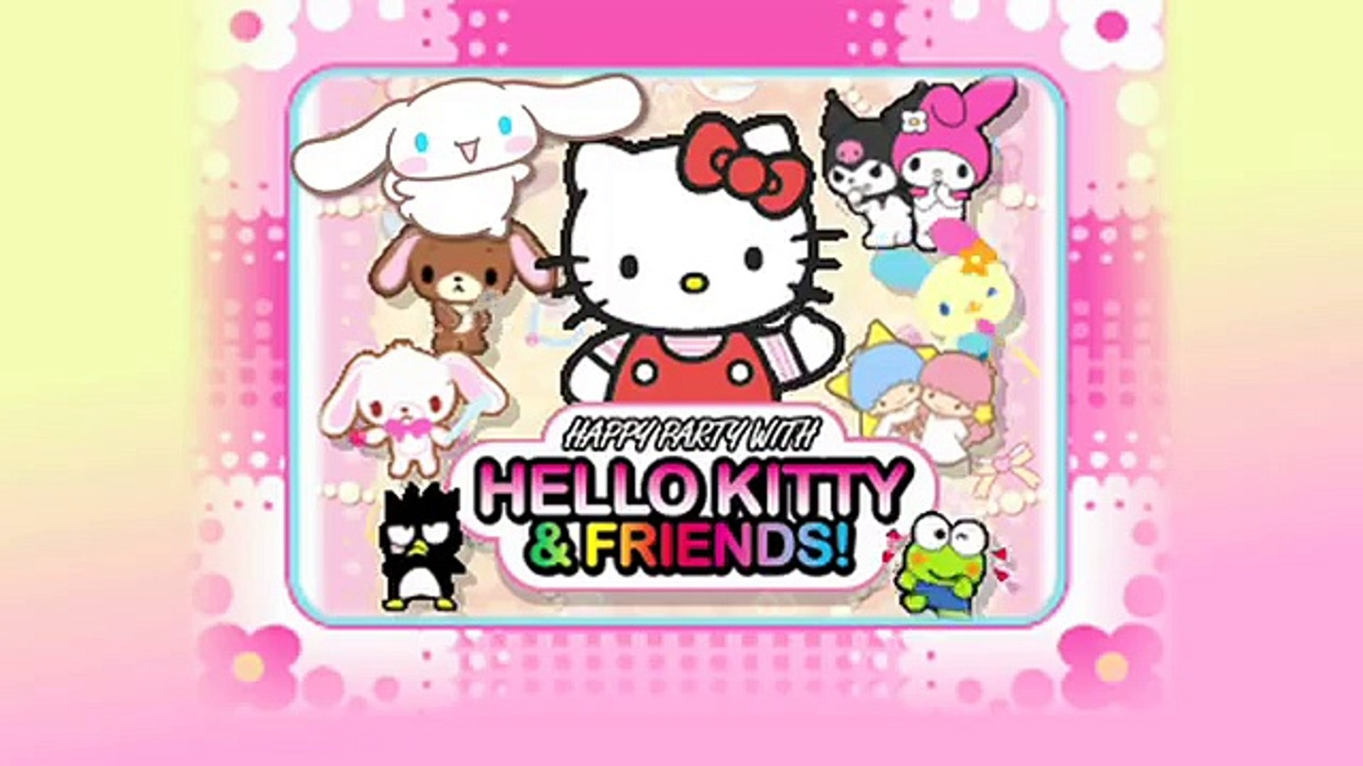 Happy Party With Hello Kitty And Friends Trailer Nintendo Ds
