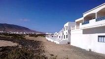 Lanzarote: Caleta de Famara.