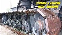 Strange & Extreme MEGA MACHINES - 2nd Edition - Tanks, Trains, Trucks, Ships, & Planes
