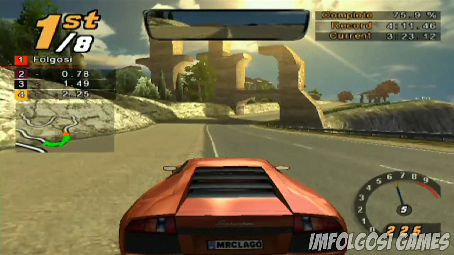 Need For Speed Hot Pursuit 2 Ps2 Championship 27 Lamborghini Past Vs Present Video Dailymotion