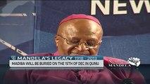 Desmond Tutu pays tribute to the iconic Nelson Mandela