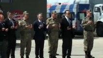Şehit Uzman Onbaşı Muhammet Oruç ile Şehit Salih Hüseyin Parça Törenlerle Uğurlandı