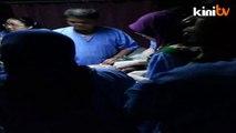 K'tan floods: Baby intubated in the dark