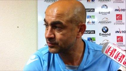 Sedan 0-1 Marseille-Consolat : Réaction de Farid Fouzari