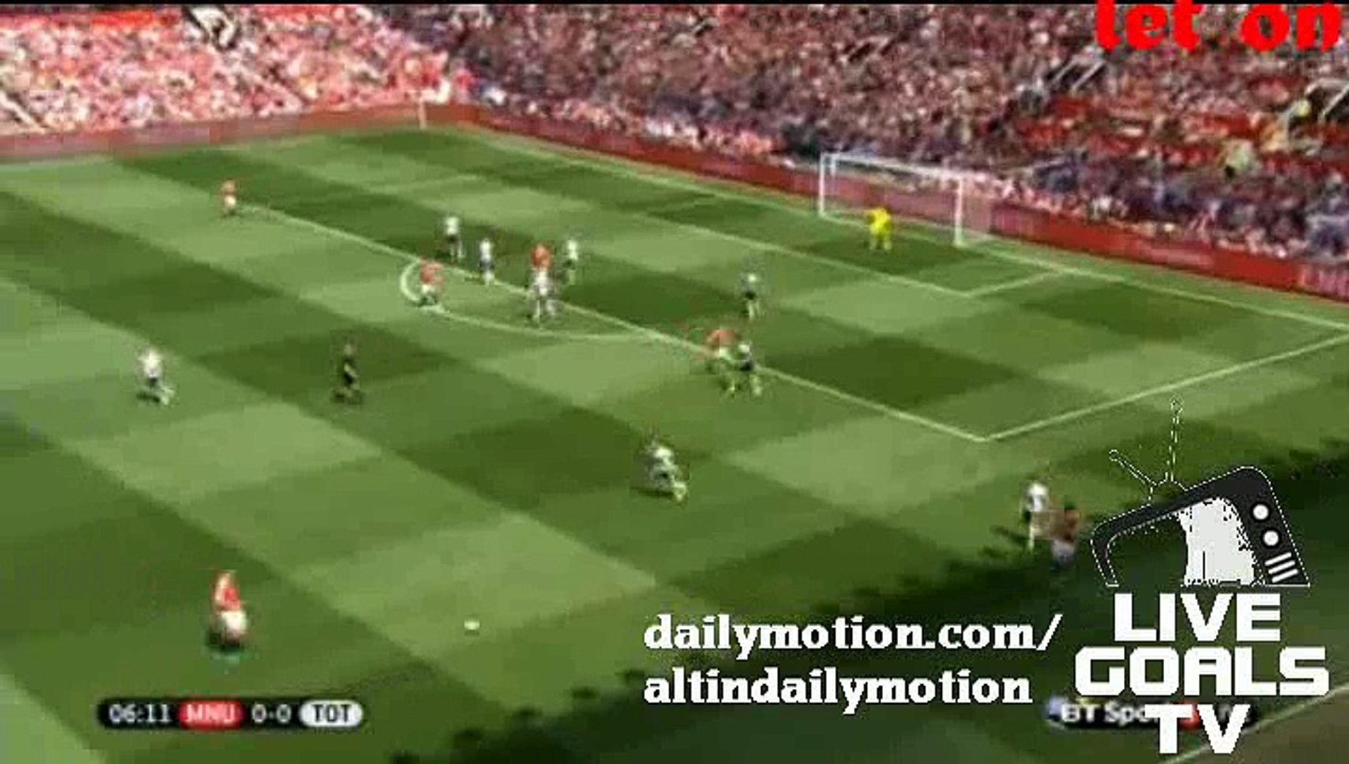 Manchester United Amazing Tika Taka Play - Manchester United 0-0 Tottengham - Premier League - 08.08