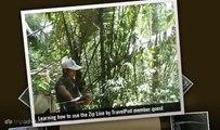 """My weekend ziplining around my Jungle treehouse"" Quest's photos around Luang Prabang (slideshow)"