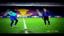 Football Freestyle  Tricks & Skills  Neymar  Ronaldinho  Ronaldo   Lucas  Ibrahimovic _HD