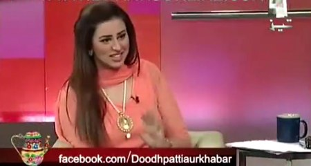Sajawal Ali With Madiha Naqvi - Live Performing At Geo Tezz