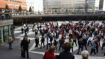 Flash Mob Sergels Torg SBS Shuffle Boogie Soul, Stockholm,Sweden.MPG