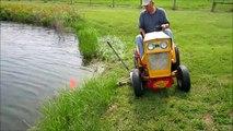 Farmall Cub Sickle Bar Mower Cuts the Grass! - video dailymotion