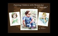 Corel Painter X3 Watercolor Speed Painting by Painter Instructor Winifred Whitfield